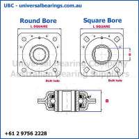 DHU Disc Harrow Units Complete Round Bore Diagram