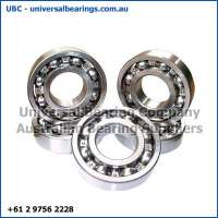 deep groove ball bearing 1-4 mm open and sealed variants