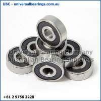 deep groove ball bearings single row closed 22-35 mm