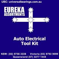 black tool box and tools to repair car electrical problem
