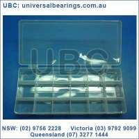 Plastic storage box 18 sections