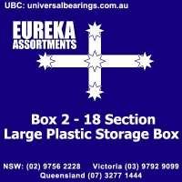 Eureka assortments Storage Box Large Plastic Case
