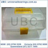 Large Plastic Tool Box Yellow Handle Eureka Assortments