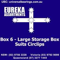 Box 6 Large Storage Box Suits Circlips