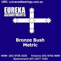 metric bronze bushes eureka assortments