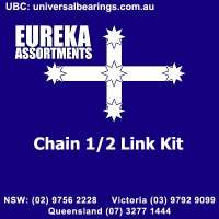 Chain links for maximum adjustability eureka assortments