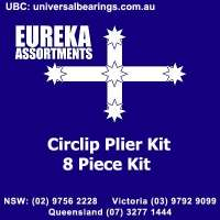 circlip plier kit 8 piece tools Eureka
