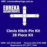 clevis hitch pin kit 28 piece eureka assortments