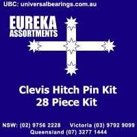 clevis hitch pin kit 28 piece eureka assortments