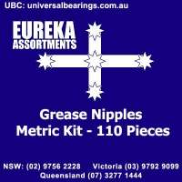 grease nipples metric kit 110 piece australia