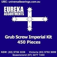 grub screw imperial 450 piece kit eureka assortments