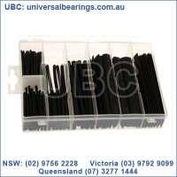 black heat shrink tube kit