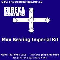 Miniture bearing imperial kit 120 piece