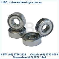 miniature ball bearings metric australia