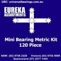 mini bearing metric kit 120 piece
