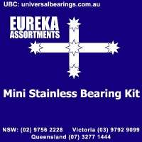 miniature stainless bearing kit 120 piece