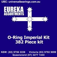 O Ring Imperial Eureka assortments 382 piece