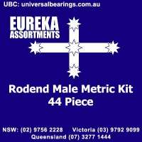 rod end male metric kit 44 piece