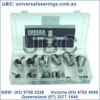 rod end studded female metric kit 11 pieces