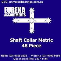 shaft collar metric 48 pieces