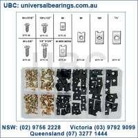 speed nut kit 170 piece for sheet metal screws