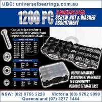 stainless fastener kit 1200 piece 2