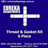 thread and gasket kit 6 pieces australia