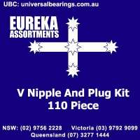 v nipple and plug kit 110 piece australia