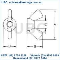 Wing Nut kit 150 piece UBC