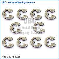 3 Stainless Steel E Clips