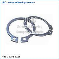 2 Circlips External Stainless Steel