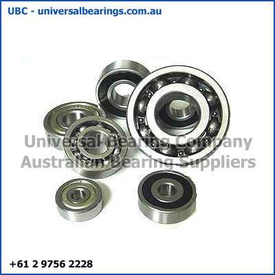 deep groove ball bearing 1-4 mm low frictional torque