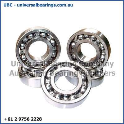 deep groove ball bearings single row open 22-35 mm
