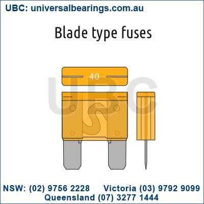Auto Blade Fuse Kit 120 Piece Mini UBC