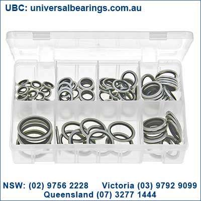 bonded washers 106 piece metric