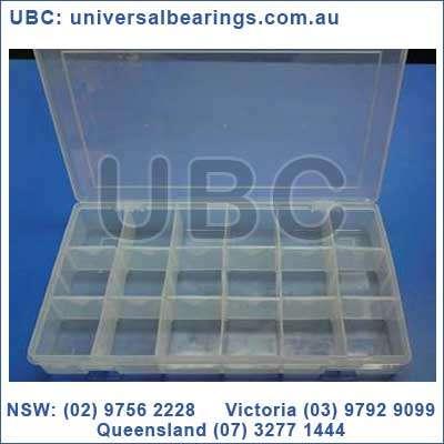 Storage Box Large Plastic Case 18 boxes