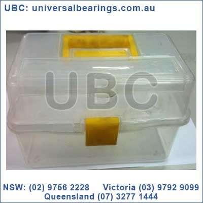 Large Plastic Tool Box Yellow Handle Eureka Assortments