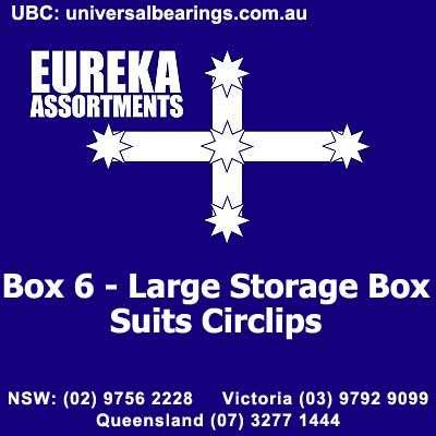 Box 6 Large Storage Box Suits Circlips