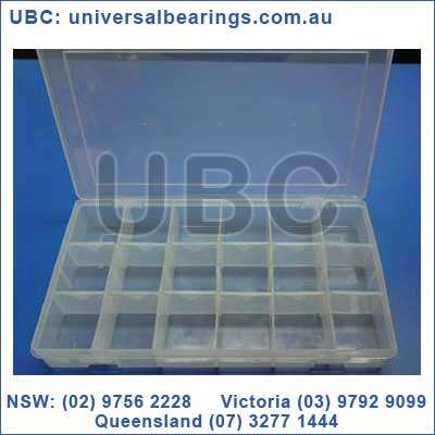Box 6 Large Storage Box Suits Circlips Size: 27 cms x 18.5 cms x 5cms