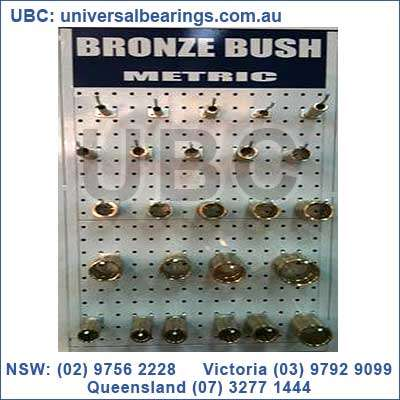 metric bronze bushes display