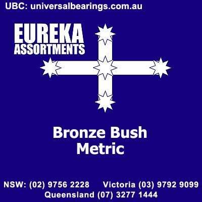 metric bronze bushes eureka assortments