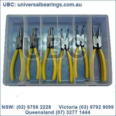 circlip plier kit 8 piece tool