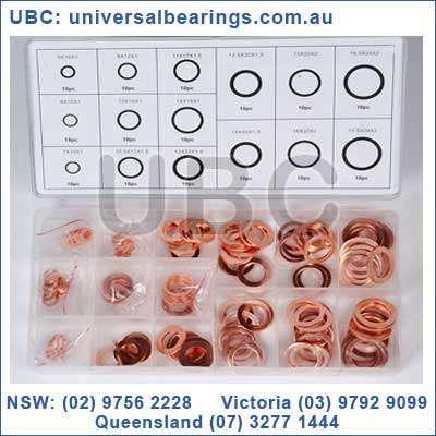 copper washer kit 150 piece