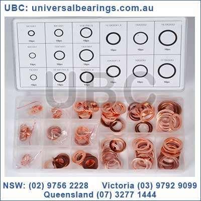 copper washer kit 150 piece