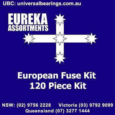 European fuse kit 120 piece eureka assortments