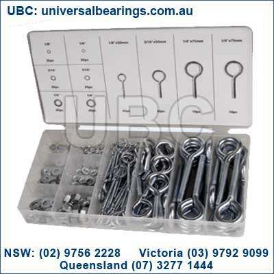 eye bolt with nut kit 210 piece australia