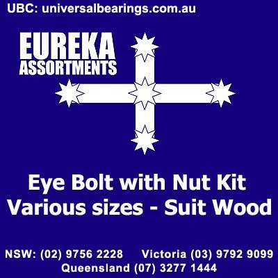 eye bolt with nut kit 210 piece eureka assortments