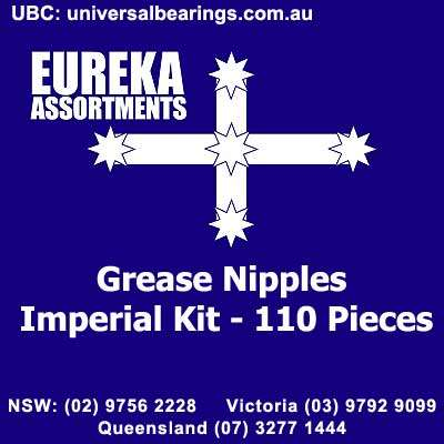 grease nipples imperial kit 110 Piece Kit australia