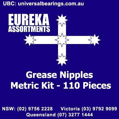 grease nipples metric kit 110 piece australia
