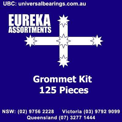 grommet kit 125 piece eureka assortments